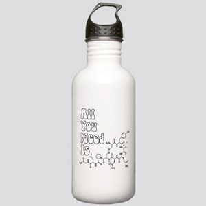 All You Need Is [Oxytocin] Sports Water Bottle